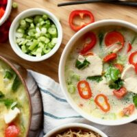 Coconut Ginger Chicken Soup {Paleo, Dairy-free}