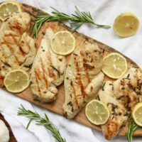 Grilled Lemon Rosemary Chicken {Whole30, Paleo}
