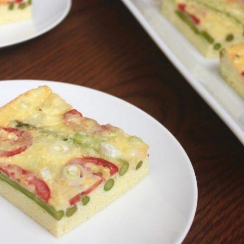 Asparagus and Tomato Frittata