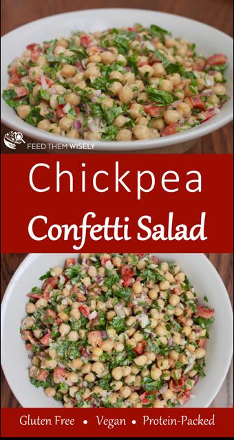 easy healthy chickpea salad