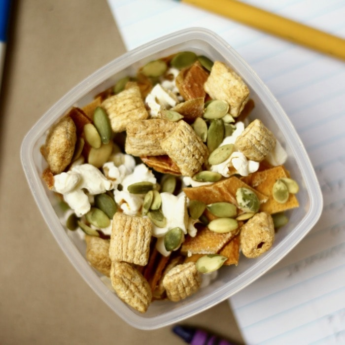 gluten-free nut-free healthy snack mix recipe