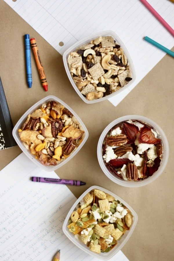 healthy trail mix recipes for easy after school snacks