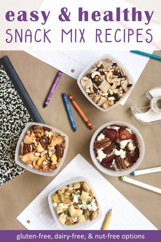 Healthy Snack Mix Recipes for Kids