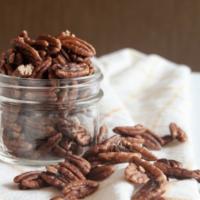 Toasted Maple Cinnamon Pecans {Vegan, Paleo}