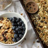 Healthy Homemade Granola {Gluten-Free & Vegan}