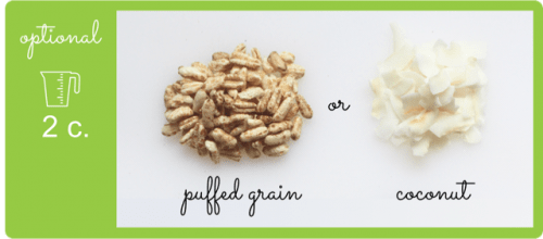 Healthy nut-free granola ingredient options