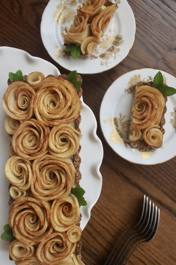 Surprisingly simple to prepare and yet stunning to serve, this dairy-free Apple Rose Tart is a must for fall celebrations.
