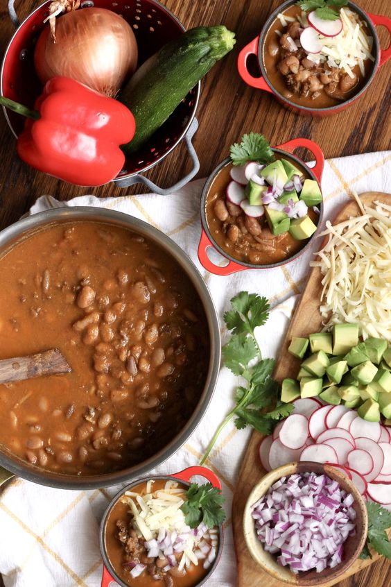 Family-favorite healthy chili recipe with hidden veggies