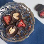 paleo dark chocolate coins for Hanukkah