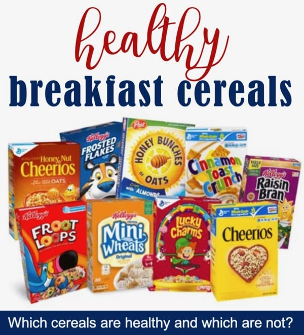 List of healthy breakfast cereal