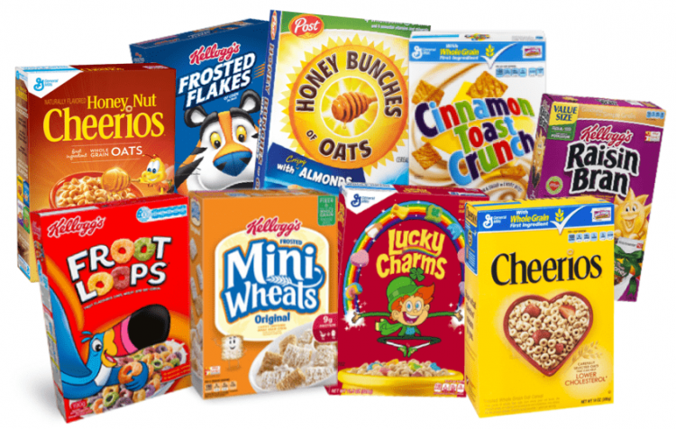 Choosing Healthier Breakfast Cereals | Feed Them Wisely