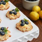 paleo macaroon bird nest tart recipe