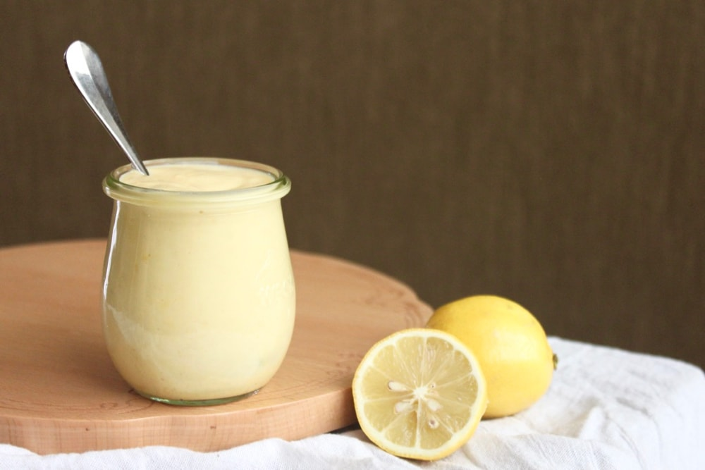 paleo dairy-free lemon custard recipe