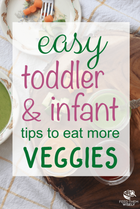 research proven tips to teach toddlers and infants to love vegetables