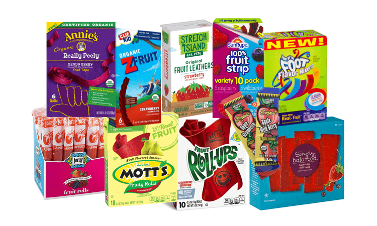 Choosing Healthier Fruit Roll-Ups and Fruit Strips | Feed