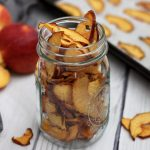 easy paleo peach chips baked in the oven