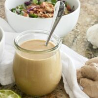 Simple Miso Ginger Dressing {Vegan, Gluten-Free}