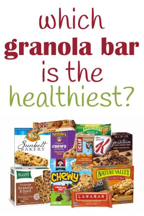 What are the healthiest granola bars? You might be surprise to learn that some favorite granola bar brands are filled with added sugar and other unhealthy ingredients. Find out what ingredients are in healthy granola bars