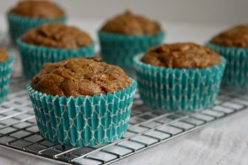 dairy-free morning glory muffins are a delicious healthy school snack