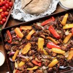 Easy whole30 chicken shawarma sheet pan dinner
