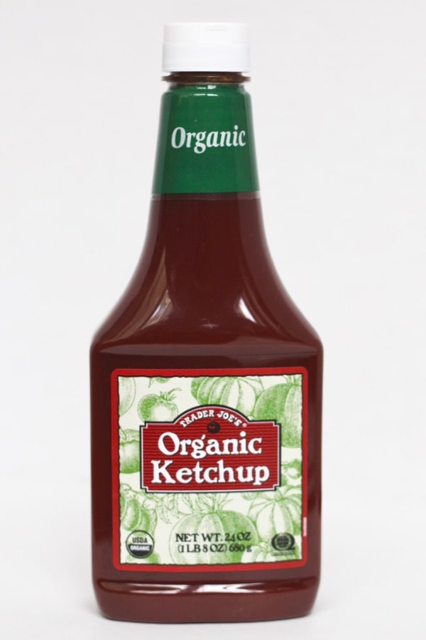 Trader Joe's ketchup is low in added sugar