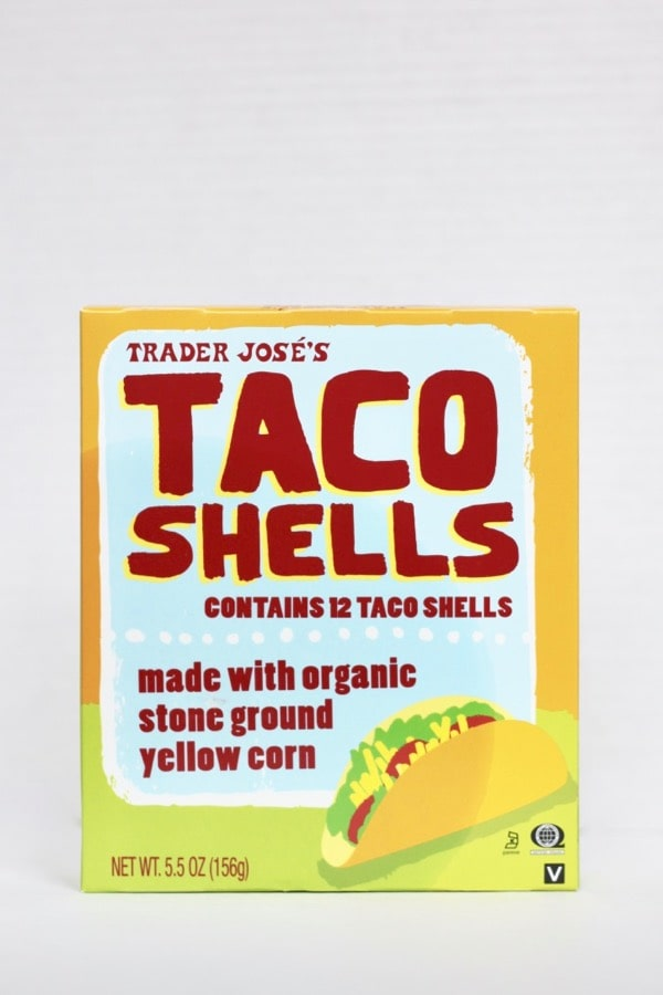 Trader Joe's taco shells are made with organic corn