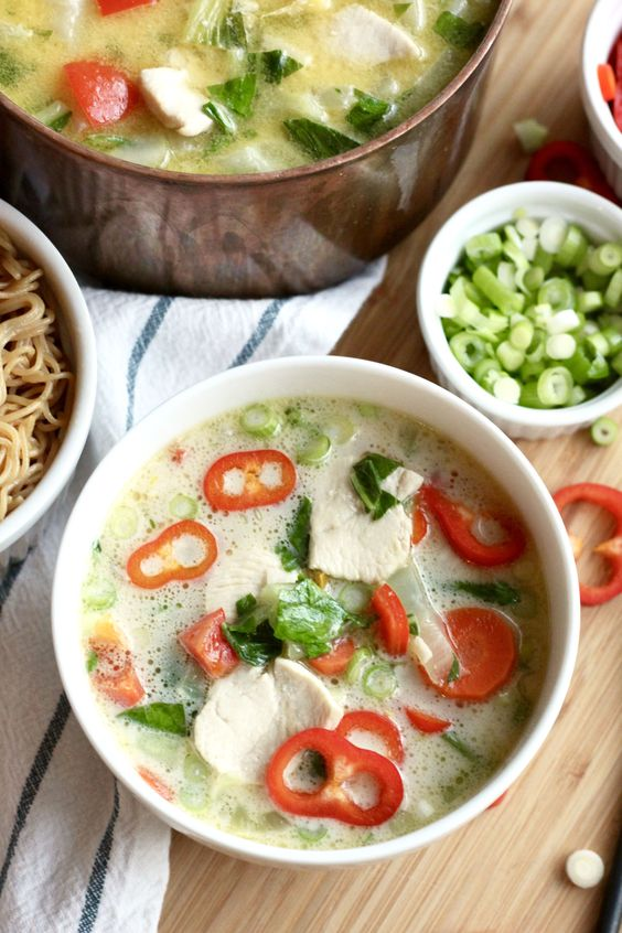 Paleo ginger chicken soup recipe