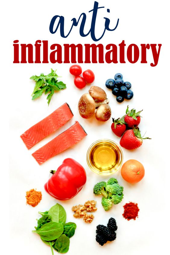 Anti-inflammatory foods and anti-inflammation diets