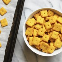 Homemade Cheez Its Recipe {Low Carb & Gluten-Free}