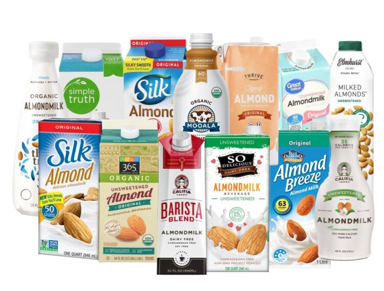 evaluation of popular almond milks which almondmilk is healthy