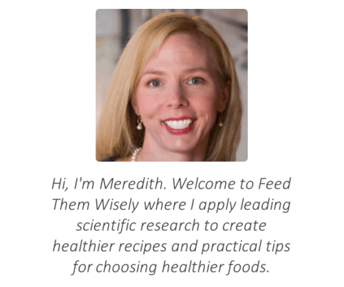 headshot of meredith and welcome message