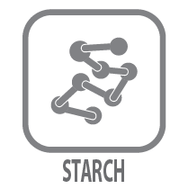 healthy foods avoid starch icon