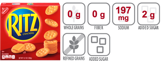 ritz crackers nutritional information